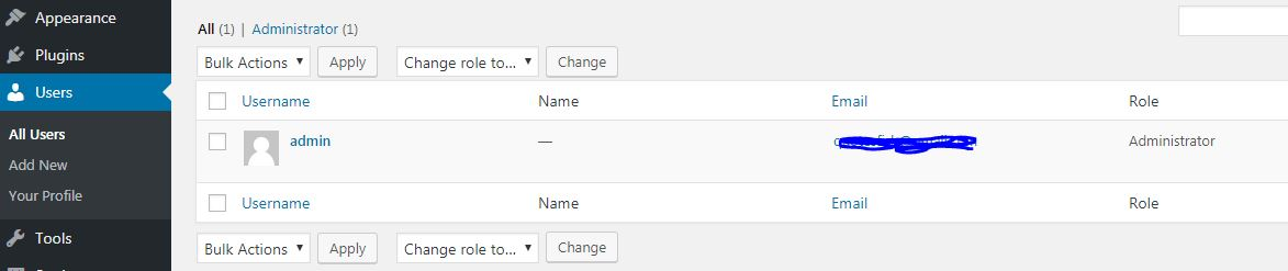 how to change your wp admin